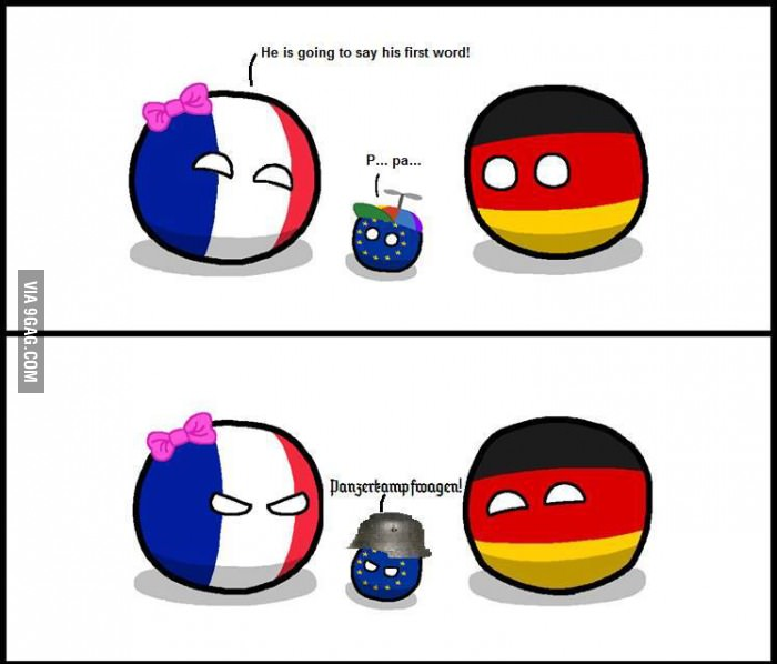 Learning Animals With Germany And France By Bloatarder Meme Center