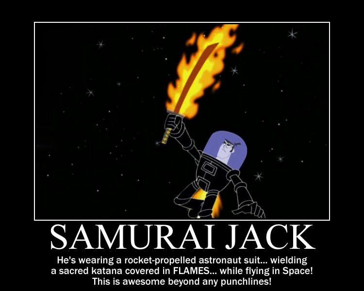 Samurai Jack Is Pissed By Hawkeyederezzed Meme Center
