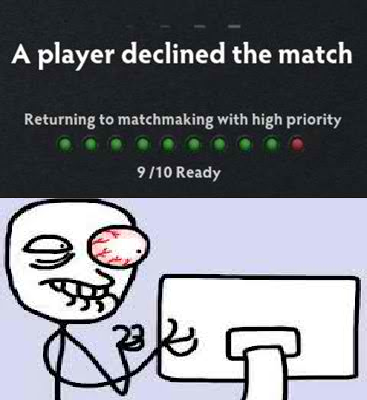 returning to matchmaking with high priority