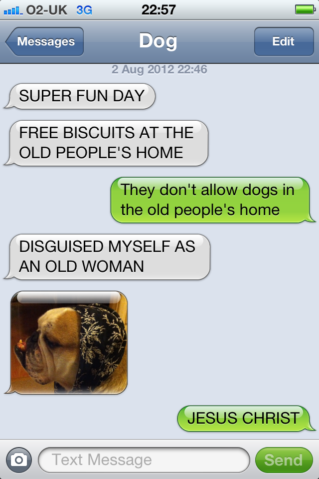 Texts From My Dog By Likeaboss Meme Center