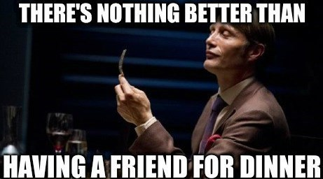 Image result for hannibal meme