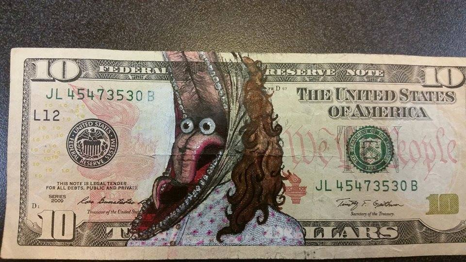 Drawings On Money By Daisukeagame Meme Center