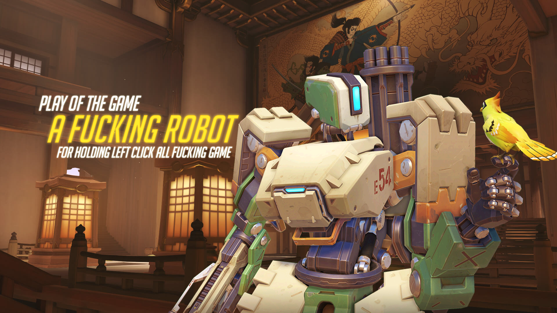 Overwatch Blizzard Entertainment Bastion Play of the Game